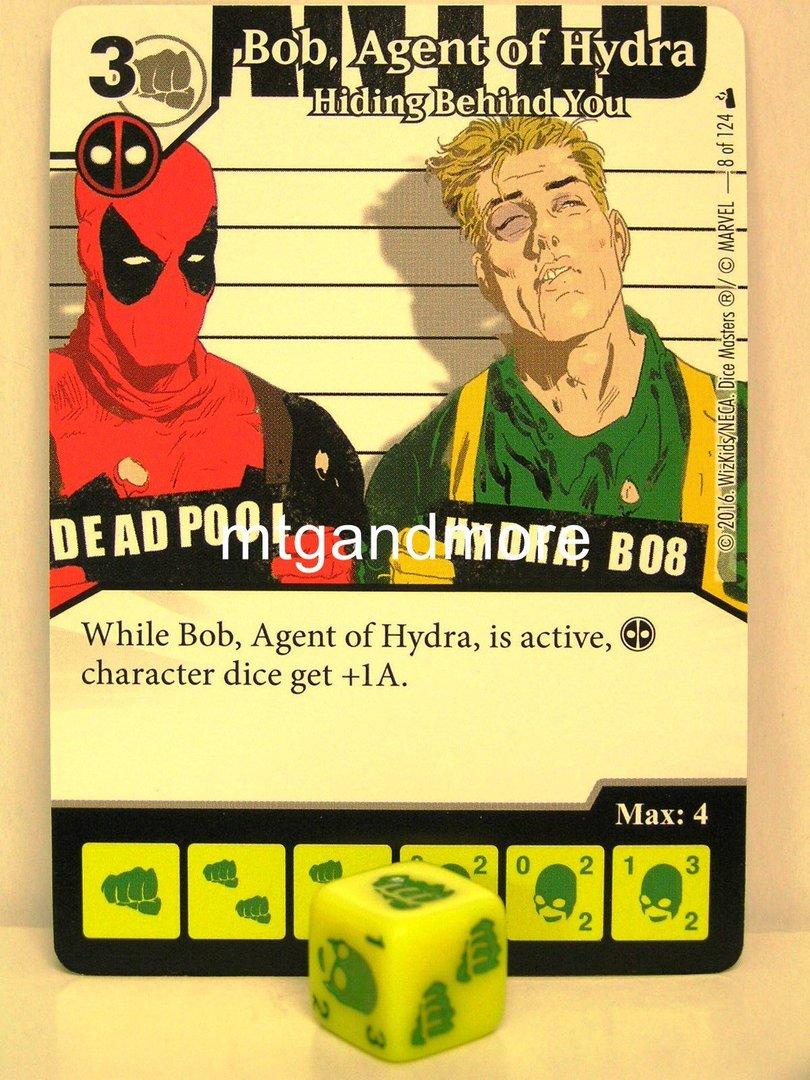 Deadpool Dice Masters #029 Multiple Man Duplicitous Nature