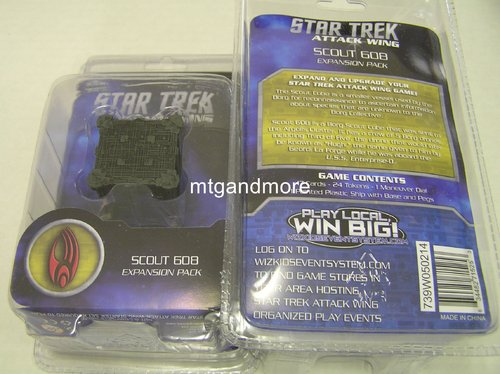 Star Trek Attack Wing Scout 608