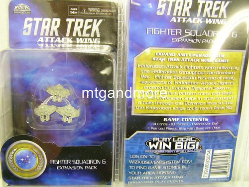Star Trek Attack Wing Fighter Squadron 6