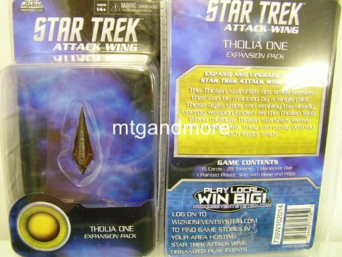 Star Trek Attack Wing Tholia One