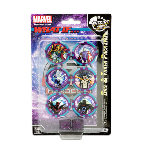 Heroclix What if? Dice & Token Pack