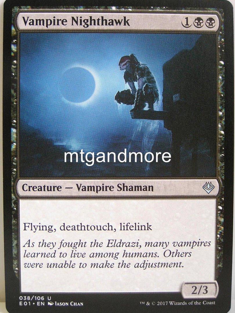 Mtg vampire nighthawk  x 2 great condition