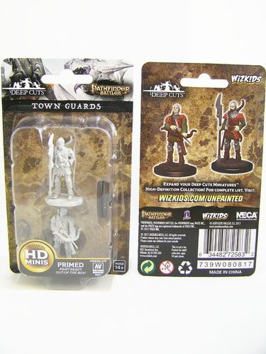 PREORDER - WZK72583 - Pathfinder Deep Cuts Wave 4 - Unpainted Miniatures - Town Guards