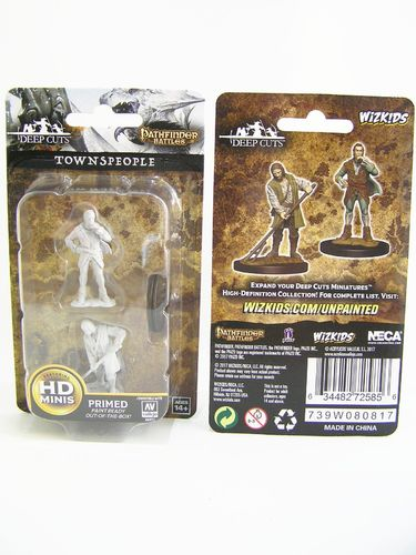 PREORDER - WZK72585 - Pathfinder Deep Cuts Wave 4 - Unpainted Miniatures - Towns People