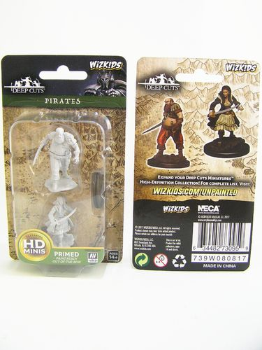 PREORDER - WZK73095 - Pathfinder Deep Cuts Wave 4 - Unpainted Miniatures - Pirates