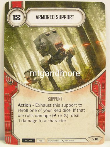 Star Wars Destiny - #010 Armored Support - Force Friday Starter