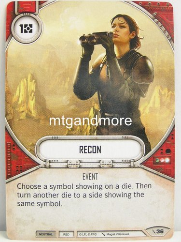 Star Wars Destiny - #036 Recon - Force Friday Starter