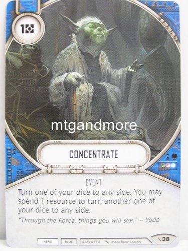 Star Wars Destiny - #038 Concentrate - Force Friday Starter