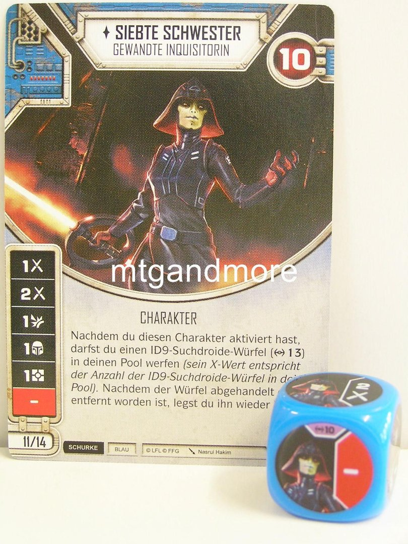rot 1x #029 Y-Flügler Star Wars Destiny Imperium im Krieg Würfel