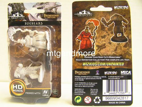 WZK72587 - Pathfinder Deep Cuts Wave 2 - Unpainted Miniatures - Bugbears