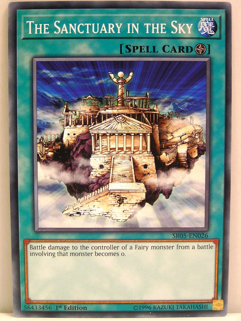 Yugioh 026 the sanctuary in the sky sr05 wave of light yugioh 026 the sanctuary in the sky sr05 wave of light structure aloadofball Image collections