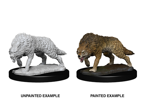 WZK73553 - Pathfinder Deep Cuts Wave 7 - Unpainted Miniatures - Timber  Wolves
