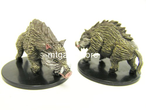 #026 Dire Boar - Large Figure - Dungeons Deep