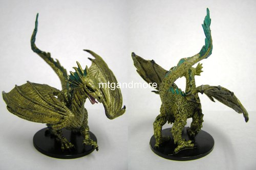 #044 Large Bronze Dragon - Large Figure - The Lost Coast