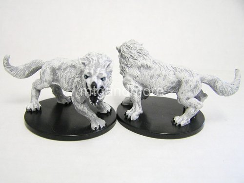 #025 Winter Wolf - Large Figure - Reign of Winter