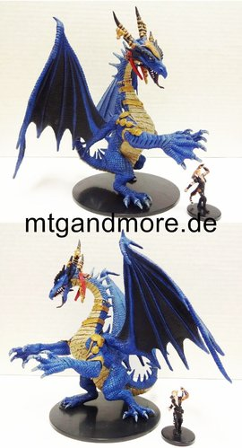 #055 Gargantuan Blue Dragon - Gargantuan Figure - Shattered Star