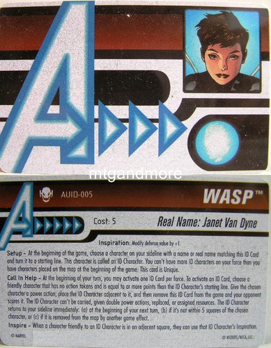 Wasp ID Card AUID-005 - Age of Ultron
