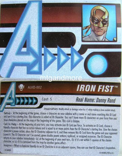 Iron Fist ID Card AUID-002 - Age of Ultron