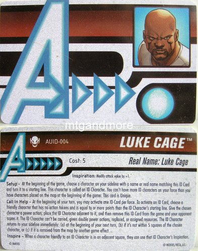 Luke Cage ID Card AUID-004 - Age of Ultron