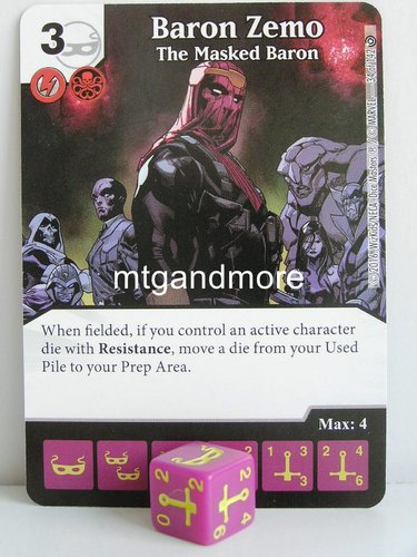 #034 Baron Zemo The Masked Baron