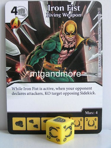 #043 Iron Fist Living Weapon