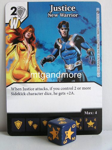 #046 Justice New Warrior