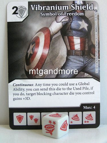 #070 Vibranium Shield Symbol of Freedom