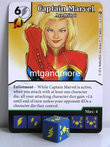 #076 Captain Marvel Ace Pilot