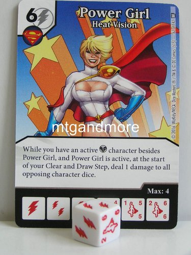 #062 Power Girl Heat Vision