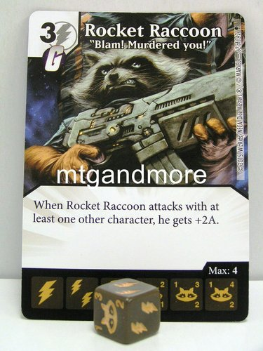 #062 Rocket Raccoon Blam! Murdered you!