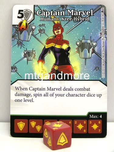 #078 Captain Marvel Human/Kyree Hybrid