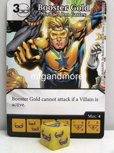 #041 Booster Gold Michael Jon Carter
