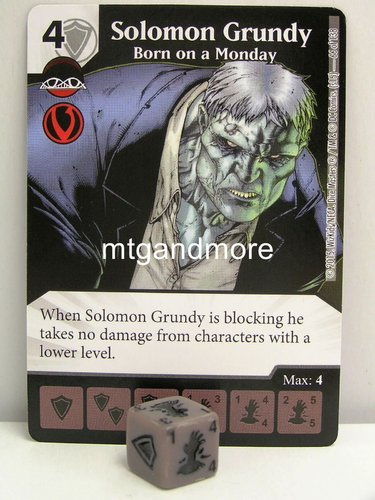 #066 Solomon Grundy Born on a Monday