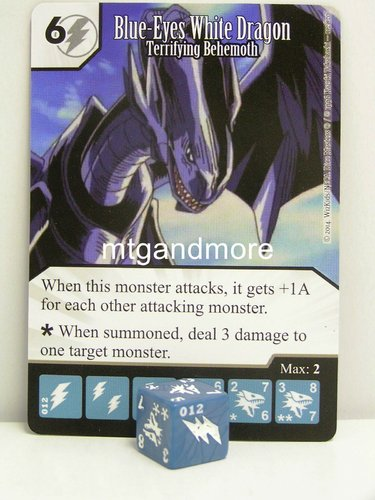 #012 Blue-Eyes White Dragon - Terrifying Behemoth
