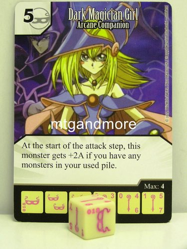 #018 Dark Magician Girl - Arcane Companion