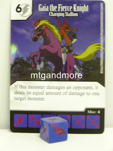 #021 Gaia the Fierce Knight - Charging Stallion