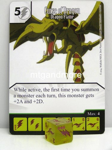 #046 Curse of Dragon - Dragon Flame