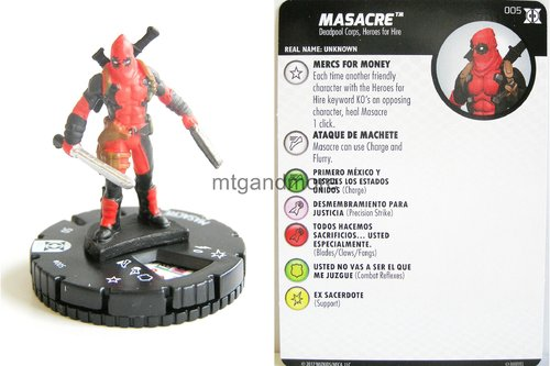 #005 Masacre - Deadpool and X-Force