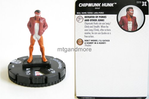 #009 Chipmunk Hunk - Deadpool and X-Force