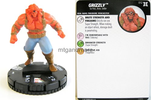 #012 Grizzly - Deadpool and X-Force