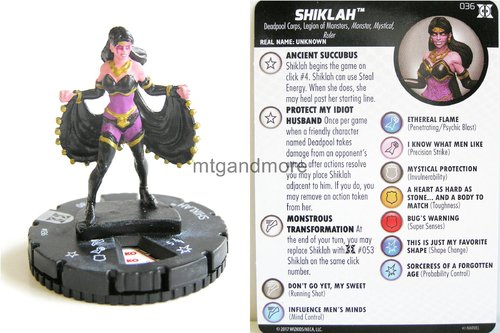 #036 Shiklah - Deadpool and X-Force