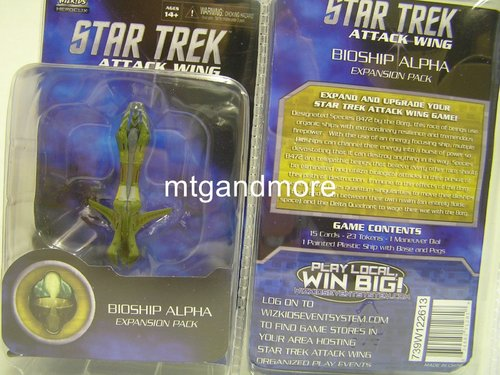 Star Trek Attack Wing Bioship Alpha
