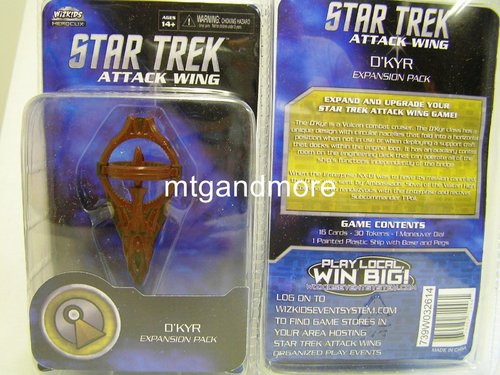 Star Trek Attack Wing D´Kyr