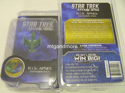 Star Trek Attack Wing R.I.S. Apnex