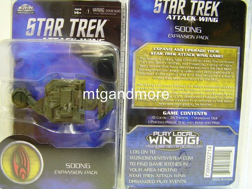 Star Trek Attack Wing Soong