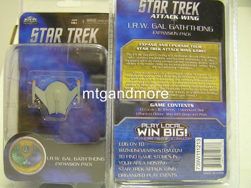 Star Trek Attack Wing I.R.W. Gal Gath´thong