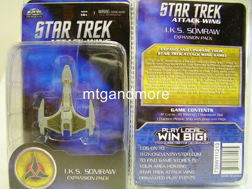 Star Trek Attack Wing I.K.S. Somraw