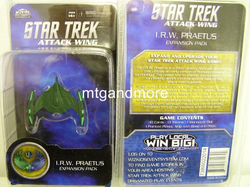 Star Trek Attack Wing I.R.W. Praetus