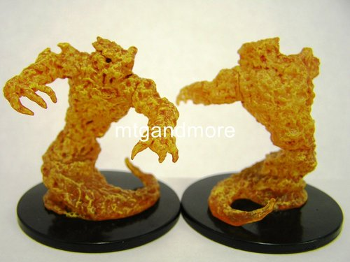 #028 Fire Elemental - Large Figure - Elemental Evil