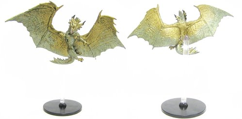 #043 Bronze Dragon - Large Figure - Elemental Evil